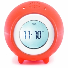 Tocky Rolling Alarm Clock in Red