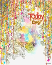 Today is the Day Canvas Wall Art