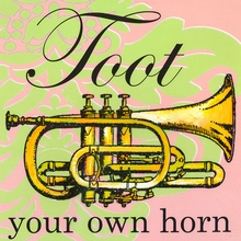Toot Your Own Horn Canvas Art