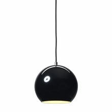 Topan Pendant in Black