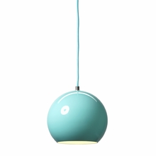 Topan Pendant in Light Blue