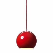 Topan Pendant in Red