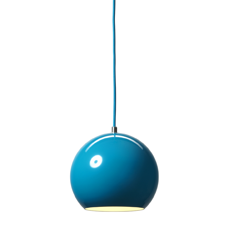 district17 topan pendant in turquoise pendant lights