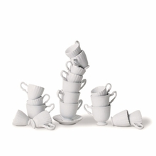 Topsy Turvy Teacups Stacking Game