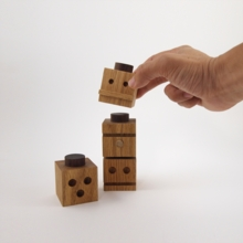 Totems Series One Wooden Blocks