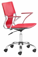 Trafico Office Chair in Red