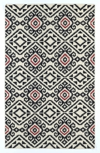 Tribal Suzani Nomad Rug in Black
