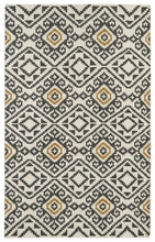 Tribal Suzani Nomad Rug in Charcoal