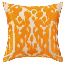 Trina Turk Ojai Embroidered Pillow in Orange
