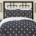 Trina Turk Palm Springs Euro Sham in Black