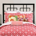 Trina Turk Palm Springs Euro Sham in Coral