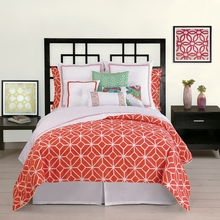 Trina Turk Palm Springs Sheet Set in Coral