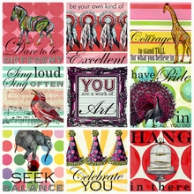 Truth Sayings for Girls Canvas Art