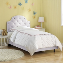 Tufted Headboard Bed