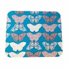 Turquoise Butterflies Mouse Pad