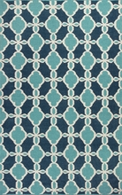 Turquoise Serenity Rug