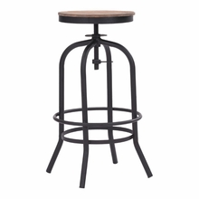 Twin Peaks Barstool Distressed Natural