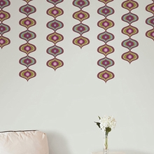 Twister Stripe Wall Decals