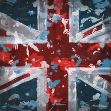 Union Jack Flag Canvas Wall Art
