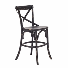 Union Square Counter Chair Antique Black