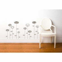 Uppsala Flowers Transfer Wall Decals
