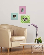 Uptown Wall Sticker Frame Set