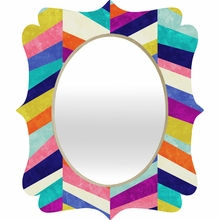 Upward 1 Quatrefoil Mirror
