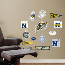 US Naval Academy Logo Wall Decals