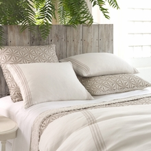 Varana Linen Neutral Duvet Cover