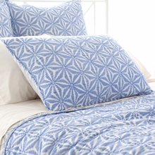Varkala French Blue Standard Sham