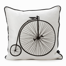 Velo Bicycle Silk Pillow