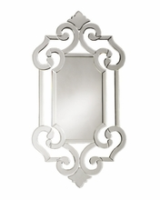 Venetian Mirror with Ornate Frame