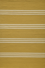 Veranda Lemon Yellow Stripe Rug