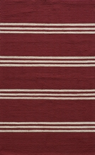 Veranda Red Stripe Rug