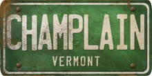 Vermont Custom License Plate Art