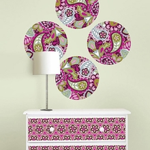 Very Berry Dot Wall Decals