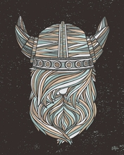 Viking Canvas Wall Art