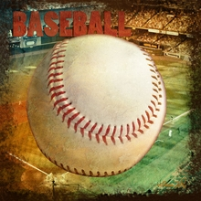 Vintage Baseball Canvas Wall Art