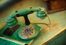 Vintage Telephone Wall Art