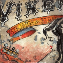 Vixen Strings and Straps Canvas Wall Art