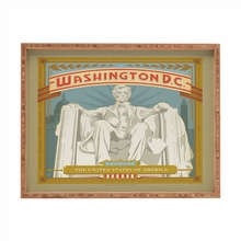 Washington DC Rectangular Tray