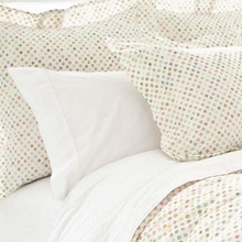 Watercolor Dots Euro Sham