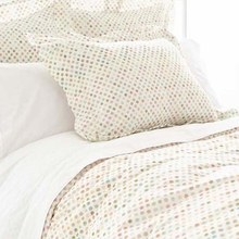Watercolor Dots Standard Sham