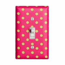 Watermelon Dots Light Switch Plate Cover