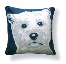 West Highlander Reversible Throw Pillow