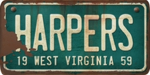West Virginia Custom License Plate Art