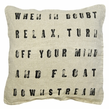 When in Doubt Throw Pillow