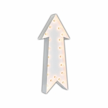 White 36 Inch Arrow Marquee Light