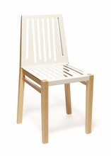 White and Natural Marlowe Chair