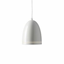 White Dynamo Pendant Light
